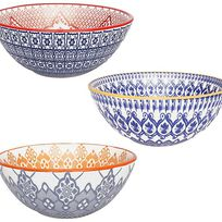 Alistate-Set por 3 bowls Decorados