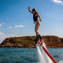 Alistate-Flyboard para 2 personas