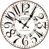 Alistate-Reloj de Pared Railway